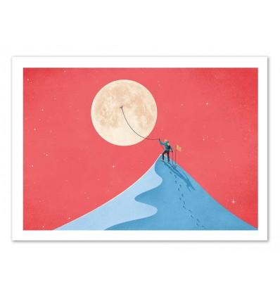 Art-Poster - Moon - Andrea de Santis