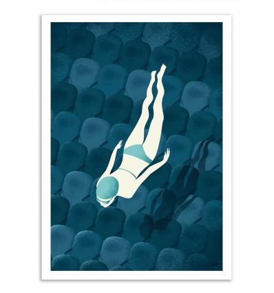 Art-Poster - Watching - Andrea de Santis