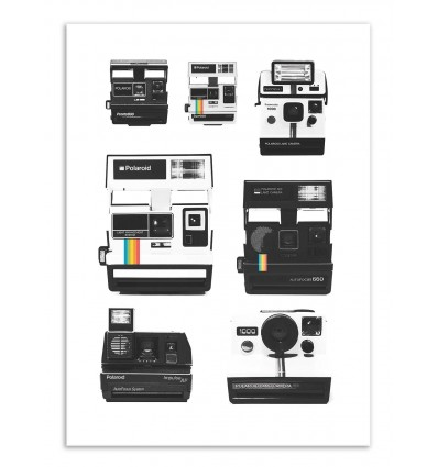 Art-Poster - Instant camera Collection - Florent Bodart