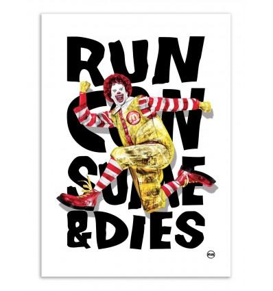 Art-Poster - Ronald McDonald - Rubiant