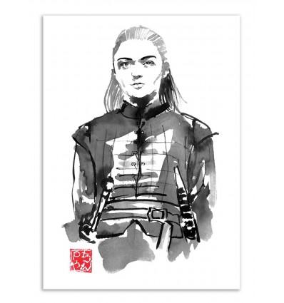 Art-Poster - Arya - Pechane Sumie