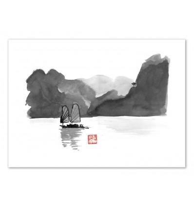 Art-Poster - Halong Bay - Pechane Sumie