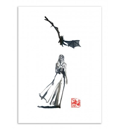 Art-Poster - Walk - Pechane Sumie