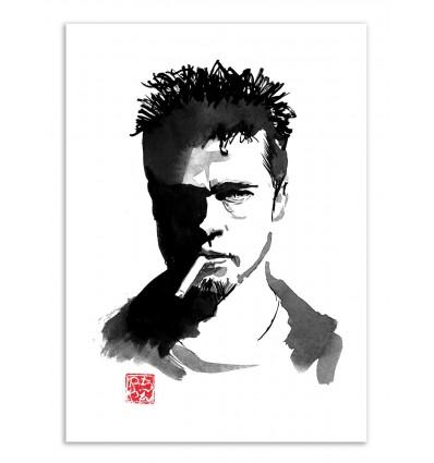 Art-Poster - Brad Pitt - Pechane Sumie