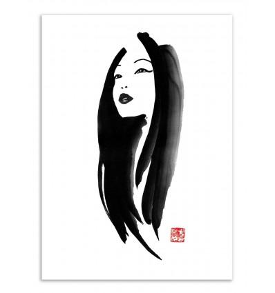 Art-Poster - Art-Poster - Woman portrait - Pechane Sumie - Pechane Sumie