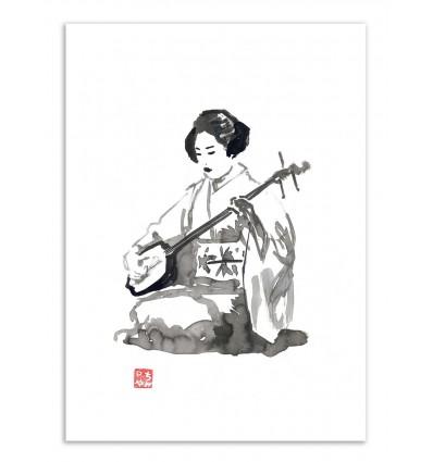 Art-Poster - Geisha Version 2 - Pechane Sumie