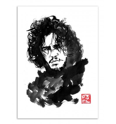 Art-Poster - Jon Snow - Pechane Sumie