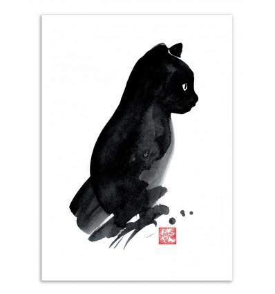 Art-Poster - Petit chat - Pechane Sumie