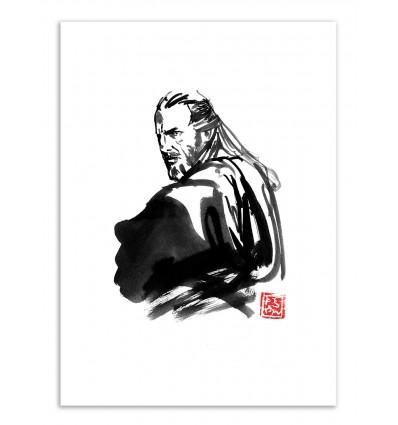 Art-Poster - Qui-Gon Jinn - Pechane Sumie