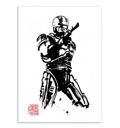 Art-Poster - Robocop - Pechane Sumie