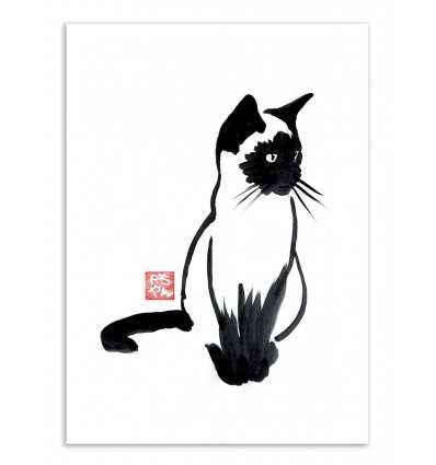 Art-Poster - Siamese - Pechane Sumie