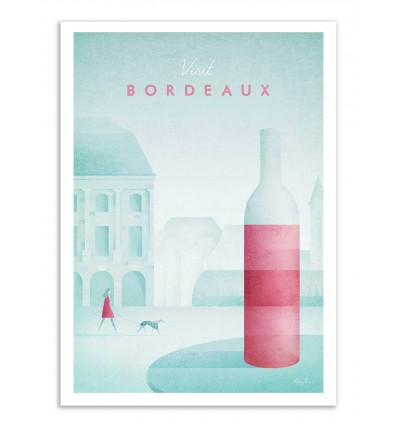Art-Poster - Visit Bordeaux - Henry Rivers