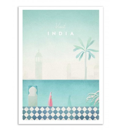 Art-Poster - Visit India - Henry Rivers