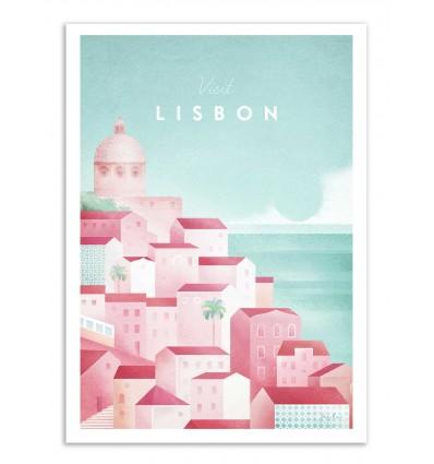 Art-Poster - Visit Lisbon - Henry Rivers