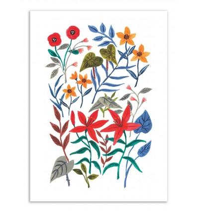 Art-Poster - Botanic field - Ploypisut