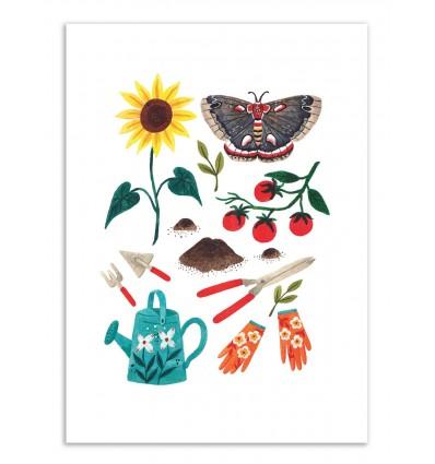 Art-Poster - Gardening - Ploypisut
