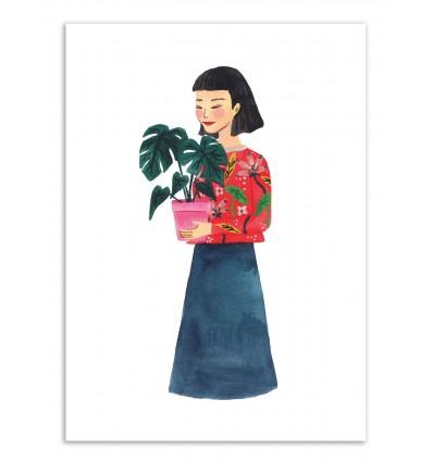 Art-Poster - Plants lady - Ploypisut