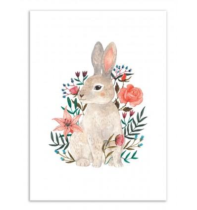 Art-Poster - Rabbit - Ploypisut