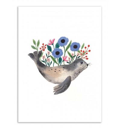 Art-Poster - Seal - Ploypisut