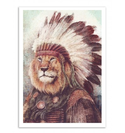 Art-Poster - Chief (Colored version) - Mike Koubou