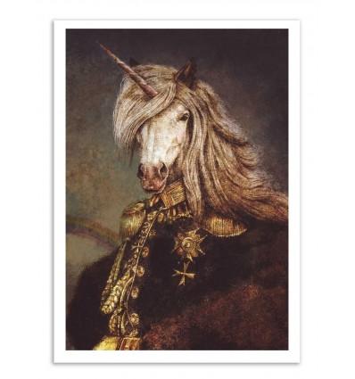 Art-Poster - The count of wonderland - Mike Koubou