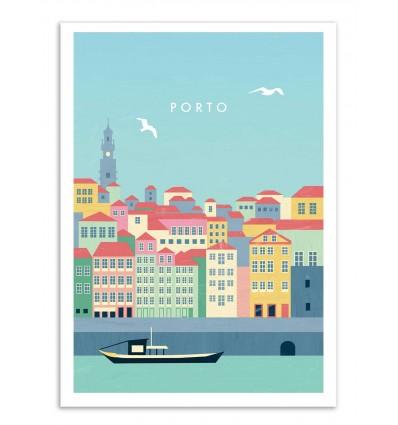 Art-Poster - Porto - Katinka Reinke