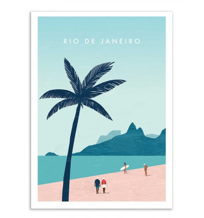 Art-Poster - Rio de Janeiro - Katinka Reinke