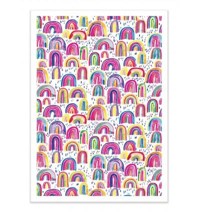 Art-Poster - Cute Rainbows - Ninola