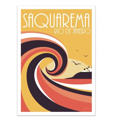 Art-Poster - Saquaremo Colors - Tom Veiga