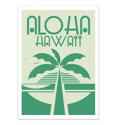 Art-Poster - Aloha - Tom Veiga
